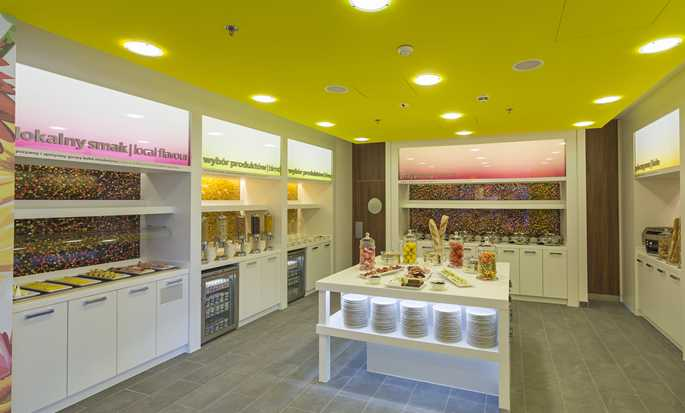 Hampton by Hilton Warsaw City Centre hotel, Polonia - Area colazione